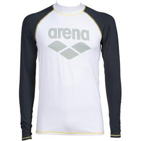arena Rash LS UV-vest Herrer, grå/hvid